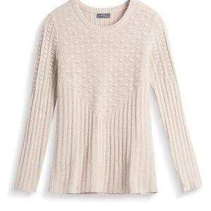 Stitchfix 41 Hawthorne cable sweater size M